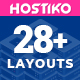 Hostiko - Hosting HTML & WHMCS Template With Isometric Design - ThemeForest Item for Sale