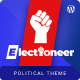 Electioneer-A political campaign and Event Figma Template - ThemeForest Item for Sale