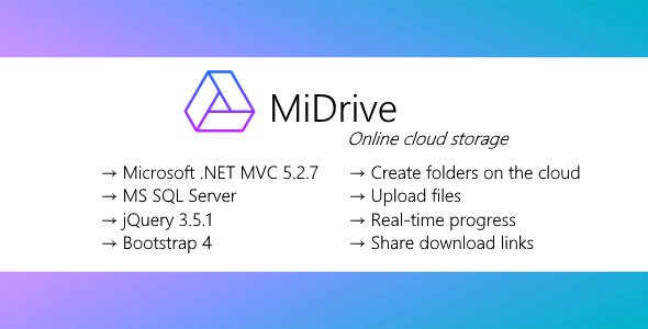 MiDrive - Cloud storage Download
