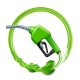 Green Fuel Handle Pump Nozzle and Hose with Green - GraphicRiver Item for Sale
