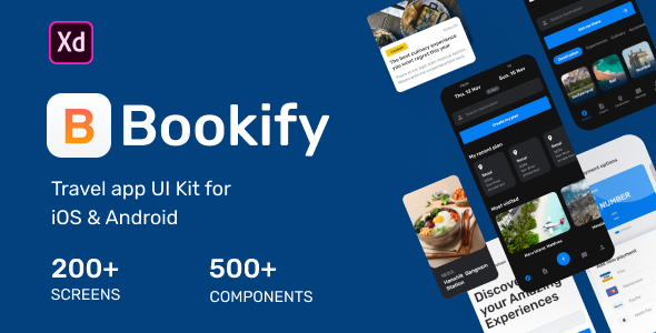 Bookify UI Kit