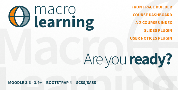 Macro Learning | Premium Moodle Theme