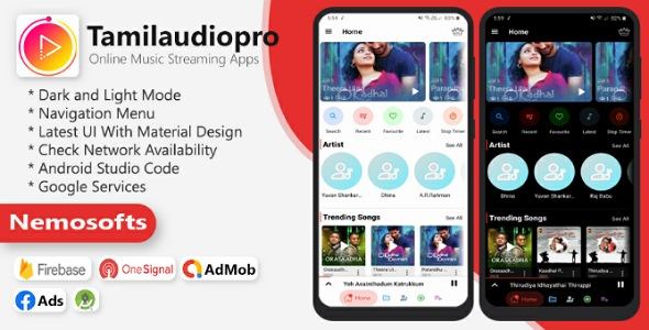 Tamilaudiopro - Online Music Streaming Apps Download