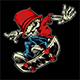 Skater Skull - GraphicRiver Item for Sale
