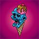 Ice Cream Zombie - GraphicRiver Item for Sale