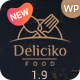 Deliciko - Restaurant WordPress Theme - ThemeForest Item for Sale