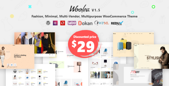 Woolea   Minimal WooCommerce Theme