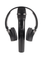 Wireless microphone and headphones - PhotoDune Item for Sale