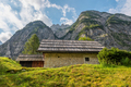 Old cottages in the mountains of the Julian Alps - PhotoDune Item for Sale