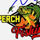 Perch Fish Logo Creator - GraphicRiver Item for Sale