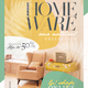 Homeware Natural Collection Social Media Pack + Flyer Template - GraphicRiver Item for Sale
