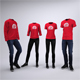 Casual Workplace Uniform Mock-Up - GraphicRiver Item for Sale