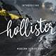 Hollister Font - GraphicRiver Item for Sale