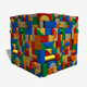 Toy Wooden Blocks Seamless Texture - 3DOcean Item for Sale