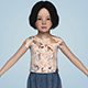 Realistic Cute Beautiful Child Girl - 3DOcean Item for Sale