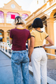 Loving lesbian couple at the street. - PhotoDune Item for Sale