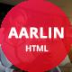Aarlin - Portfolio Html Template - ThemeForest Item for Sale