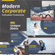 Modern Corporate Powerpoint Template - GraphicRiver Item for Sale