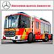 Mercedes Econic Hannover - 3DOcean Item for Sale