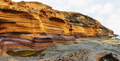 The Yellow Mountain on the ocean shore in Tenerife, Canary islands, Spain - PhotoDune Item for Sale