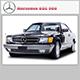Mercedes SEC 500 - 3DOcean Item for Sale