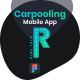 RideTalk | A Carpooling Mobile App and Landing Page Figma Template - ThemeForest Item for Sale