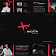 Sakata - Keynote Template - GraphicRiver Item for Sale