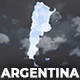 Argentina Map - Argentine Republic Map Kit - VideoHive Item for Sale