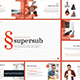 Supersub - Keynote Template - GraphicRiver Item for Sale