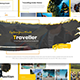 Traveler - Powerpoint Template - GraphicRiver Item for Sale