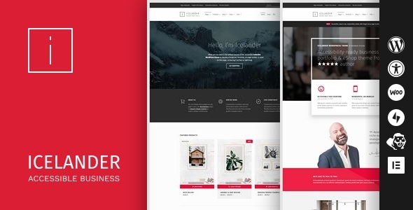 Review: Icelander - Accessible Business Portfolio & WooCommerce WordPress Theme free download Review: Icelander - Accessible Business Portfolio & WooCommerce WordPress Theme nulled Review: Icelander - Accessible Business Portfolio & WooCommerce WordPress Theme