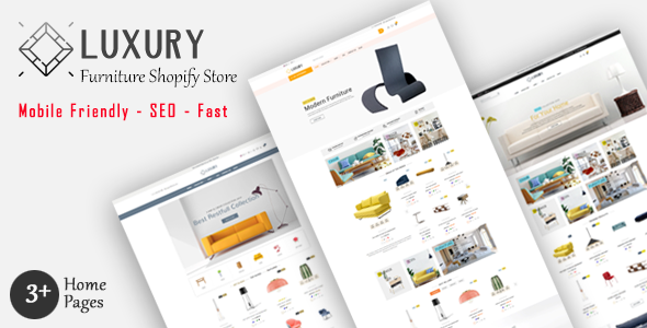 Luxury - Furniture Shopify MultiPurpose Responsive Theme