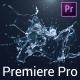 Water Splash Logo Reveal - Premiere Pro