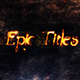 Epic Titles - VideoHive Item for Sale