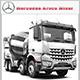 Mercedes Arocs Mixer - 3DOcean Item for Sale