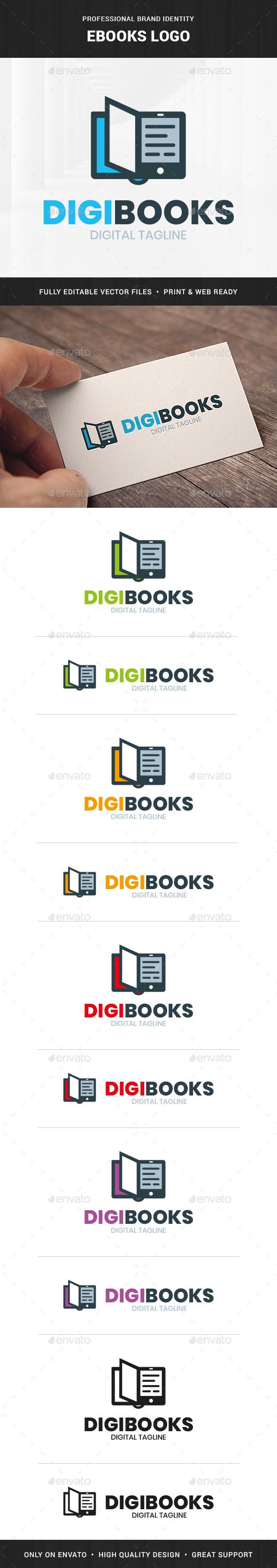 Ebooks Logo Template