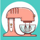 Hand-Drawn Kitchen Appliances - GraphicRiver Item for Sale
