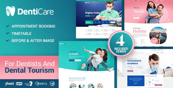 DentiCare – Medical, Dentist & Dental Clinic Preview