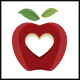Apple Love Logo Template - GraphicRiver Item for Sale