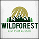 Wild Forest Logo Template - GraphicRiver Item for Sale