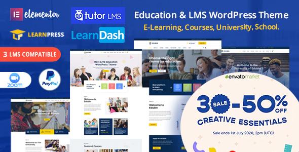 Edubin - Education WordPress Theme