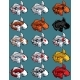Koi Isolated Set - GraphicRiver Item for Sale
