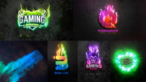 Plasma Boom Logo Reveal