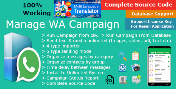 Automate WhatsApp Business Marketing - WhatsApp Bulk Sender Contacts, Group and broadcast Messaging