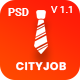 Cityjob Job Board Template - ThemeForest Item for Sale