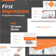 First Impression Pitch Deck Powerpoint Template - GraphicRiver Item for Sale