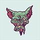 Zombie Cat - GraphicRiver Item for Sale