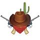Vector Cowboy Bandit Concept - GraphicRiver Item for Sale