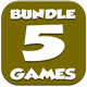 Casual 5 games - Bundle 4 - CodeCanyon Item for Sale