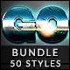 50 Text Effects - Bundle Vol. 10 - GraphicRiver Item for Sale